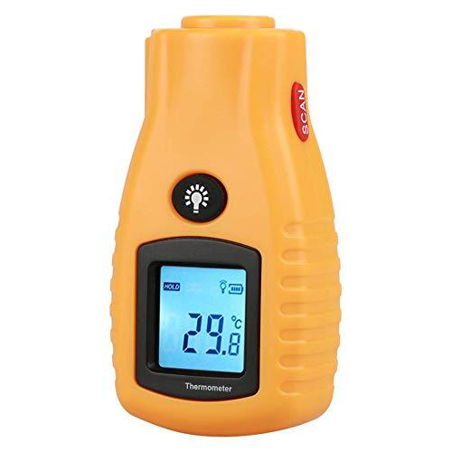 ZXlife @ heteluchtpistool, draagbaar, hoge temperatuur, digitale draadloze thermometer, met achtergrondverlichting, nauwkeurige uitlijning, 7 seconden buiten de spanning