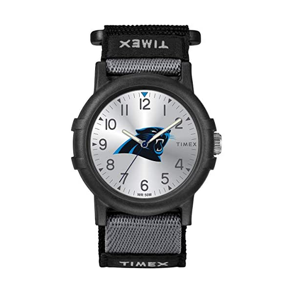 Timex Youth TWZFPANYA NFL Recruit Carolina Panthers Watch