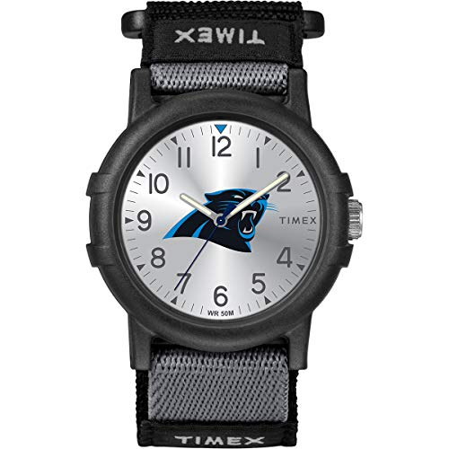 Timex Youth TWZFPANYA NFL Recruit Carolina Panthers Watch