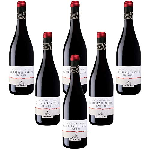 Kalterersee Auslese Klassisch Lago di Caldaro Scelto Classico Vino Rosso Alto Adige Doc Kelleri St.Pauls (6 bottiglie 75 cl.)
