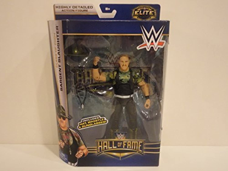 WWE Wrestling Elite Collection Hall of Fame Ssilver Slaughter 6  Action Figure by Mattel