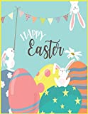 HAPPY Easter: Coloring book This is a fun book. I have a lot of funny cartoons in this book and a lot of tempting moments that will touch your mind.