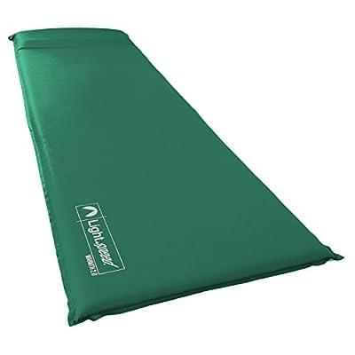 Lightspeed Outdoors Warmth Series Self Inflating Sleep Camp Pad (2.0)