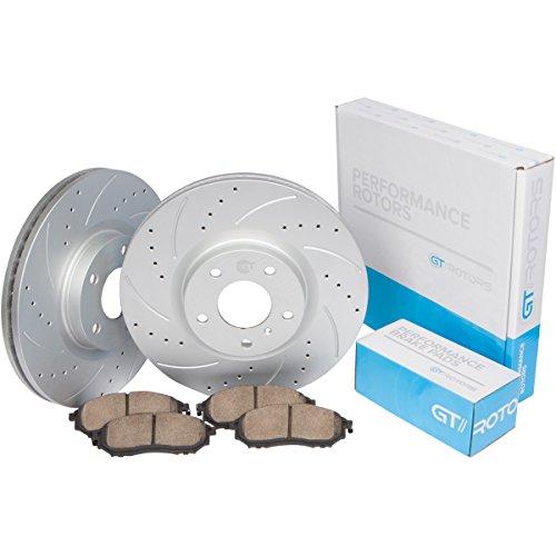 GT//Rotors Performance Brake Disc Rotors