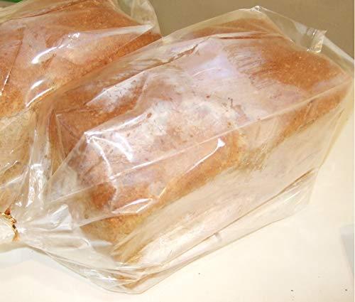 全粒粉パン(砂糖不使用・塩不使用)国産小麦の全粒粉90%使用 食パン1斤サイズ(ノンスライス)