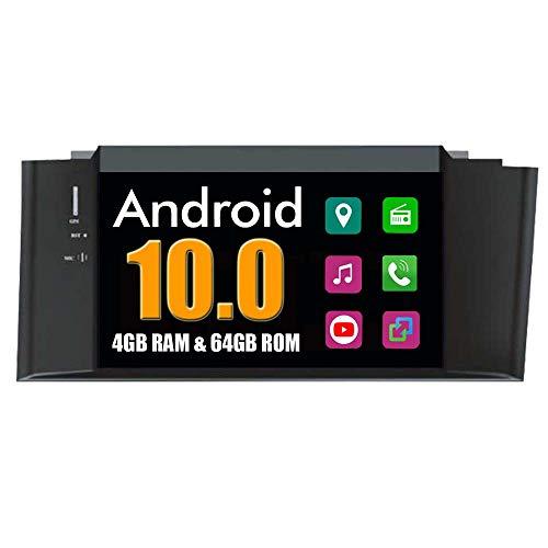 Roverone Quod Core Android Système 7 Pouces lecteur DVD de voiture pour Citroen C4 C4l DS4 2011-2014 avec autoradio Navigation GPS Radio stéréo Bluetooth SD USB Miroir Link écran tactile