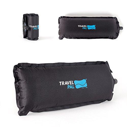 Travel Pal - Mini soporte lumbar autoinflado