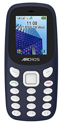 Archos 503556 Core 18f Handy und MP3-Player, Taschenlampe, Dual-SIM, Bluetooth Blau