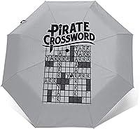 海賊のクロスワード 折りたたみ傘 自動開閉 軽量 折り畳み傘 メンズ 大きい 日傘 UVカット 紫外線遮蔽 晴雨兼用 台風対応 梅雨対策 大きい 超撥水 おりたたみ傘 メンズ レディース 折りたたみ傘 日傘 雨傘 折りたたみ傘