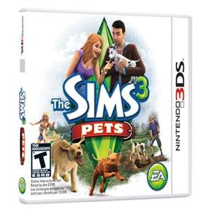 NEW The SIMS 3 Pets 3DS  Videogame Software