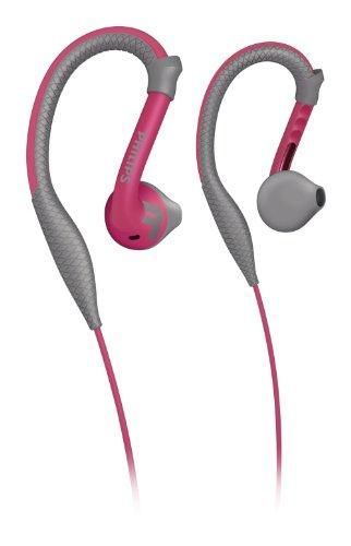 Philips Action Fit SHQ2200PK/10 Ecouteurs Sport Tour d'oreilles résistants à la transpiration et...