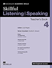 Skillful - Listening & Speaking - Level 4 Teacher Book + Digibook + Audio CD