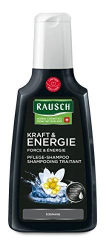 Rausch Edelweiss - Champú con agua glacial, fuerza y energía, 200 ml