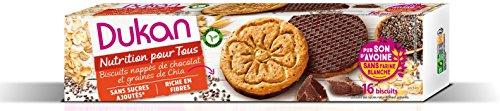 Dukan Biscuits de Son d'Avoine aux Graines de Chia 160 g