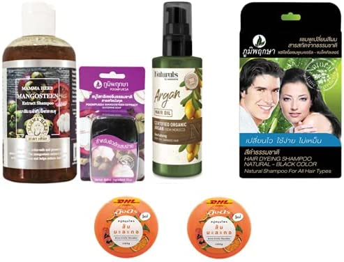 Extra Set Mama Mangosteen Peel Herbal Ve Discount mail order with Aloe 270ml Shampoo discount