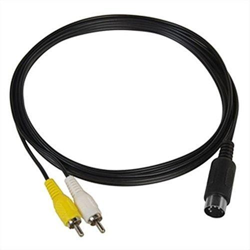 Cable de adaptador de vídeo AV RCA Audio Video para Sega Genesis...