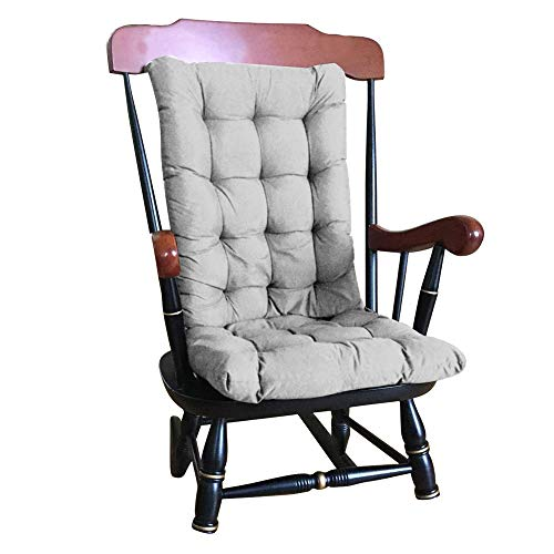 Anemoner Garden High Back Chair Cushion Patio Sun Lounger Recliner Cushion Thicken Garden Chair Seat Pad Cushion with Backrest for Chair -120x50cm