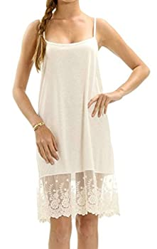 dress extenders with lace