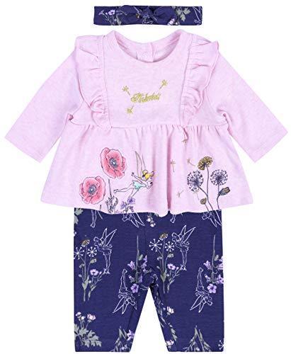 Roze tuniek + leggings + hoofdband Tinker Bell Disney