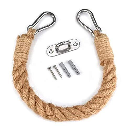 Decdeal - Portarrollos de Papel Higiénico Vintage con Cuerda,Toallero,Portarrollos de Papel Higiénico,Toalla Industrial de Cuerda,para Inodoro/Baño