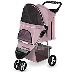 Paws & Pals 3 Wheeler Elite Pet Stroller