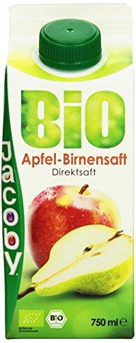 Jacoby Bio Apfel-Birnensaft, 8er Pack (8 x 750 ml)