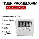 Zoom IMG-1 elehui digitale timer da cucina