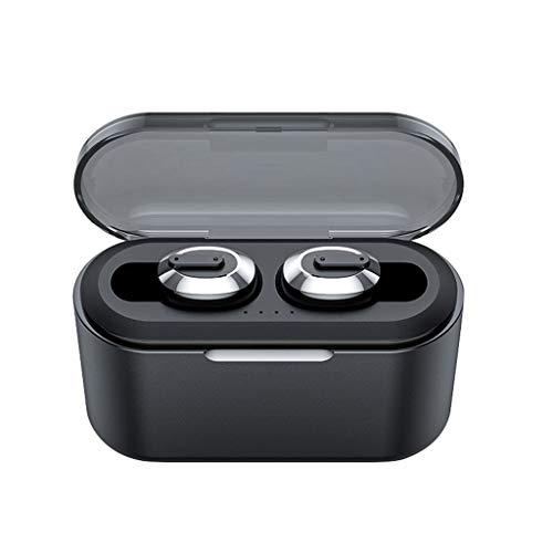 Ohrhorer bluetooth,Kabellose Kopfhörer Mini-Bluetooth-Stereo-Ohrhörer In-Ear-Headset (Schwarz)