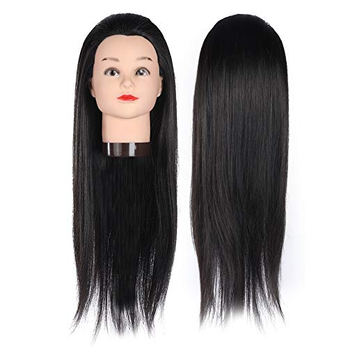 Styling hoofd oefenhoofd, synthetische vezel mannequin hoofd, mannequin hoofd make-up kapper praktijk pruik sieraden bril hoed display schimmel