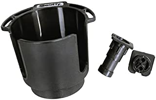 Scotty Cup Holder w/Rod Hldr Post and Bulkhead/Gnel MNT