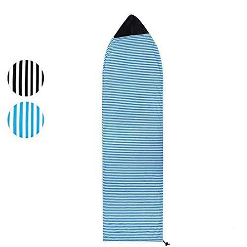 Beize Funda protectora ligera para tablas de surf de 6 pies y 10 pies (azul, 230 cm x 50 cm)