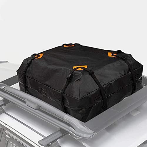 VaygWay Rooftop Cargo Carrier Bag –Waterproof Car Roof Cargo Bag – Heavy Duty 15 Cubic Feet –...