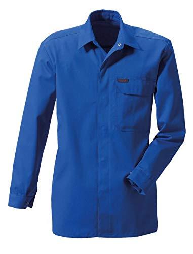 Rofa Schweisser Hemd 468 flammhemmend Antistatik Kornblau Gr. H44 127468 196 H44 Schweißershirts Schweißerhemden