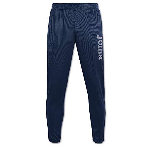 Joma Gladiator - Pantalón largo brillante para hombre, color Azul Marino, XXL