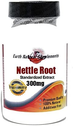 Nettle Root Standardized Extract 300mg 100% Natur OFFicial mail order 200 Capsules Cheap bargain