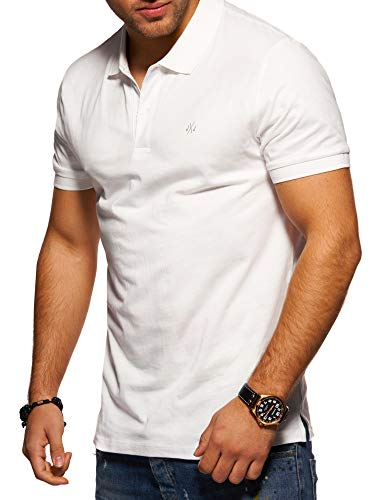 JACK & JONES Herren Poloshirt Polohemd Shirt Basic (Large, Cloud Dancer)