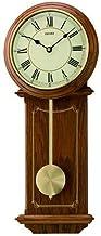Seiko Pendulum Clock (52.5 cm x 21.5 cm x 6.8 cm, Brown, QXC213B)