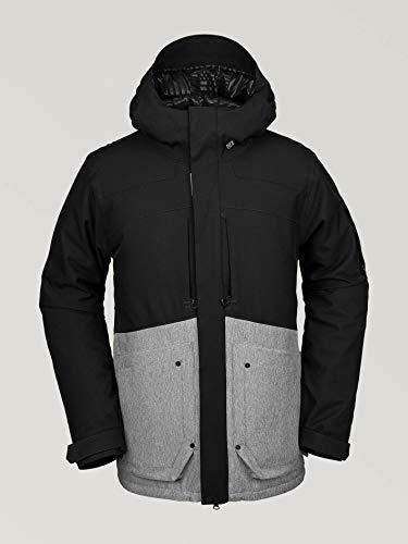 Volcom Herren Men's Scorth Insulated Snow Jacket Weste, grau meliert, Large