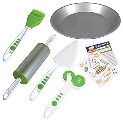Curious Chef Children's 5-Piece Pie Making Kit