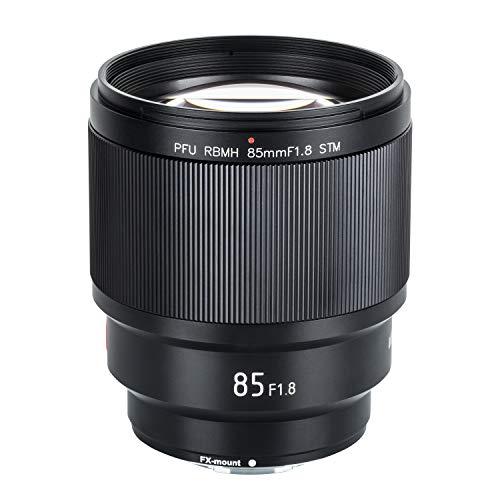VILTROX PFU RBMH 85mm F1.8 STM Autofokus Standard Prime Objektiv Porträt Kameraobjektiv für Fujifilm X-Mount Kamera X-T3 X-T2 X-T30 X-T20 X-T10 X-T100 X-PRO2 X-E3 X-A20 X-A5