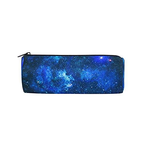 BOLOLI - Estuche para lápices Galaxy Space Pendiente, diseño de nebulosa cósmica, con cremallera, para maquillaje, para escuela, oficina, niños, estudiantes, adolescentes