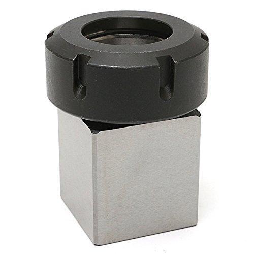 EsportsMJJ Hard Steel Square ER-40 Verzamel Chuck Block CNC draaibank gereedschapshouder