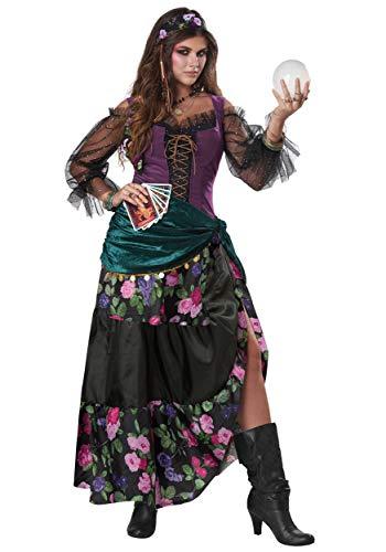 Women's Teller of Fortunes Costume Medium Black