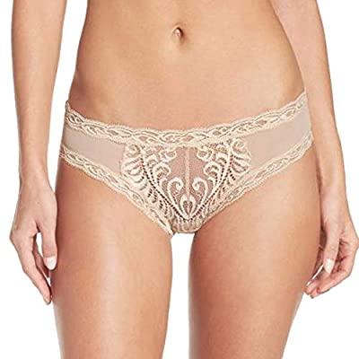 Natori Women's Feather Hipster 753023 Cosmetic S