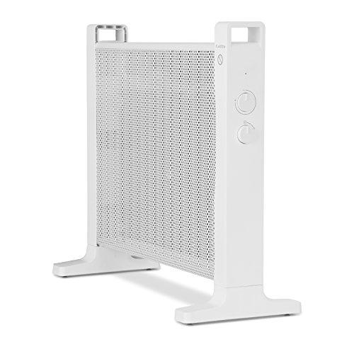 Klarstein HeatPalMica15 Calefacción eléctrica - Estufa Mica, 1500 W, 2 Niveles, Montaje en Pared,...