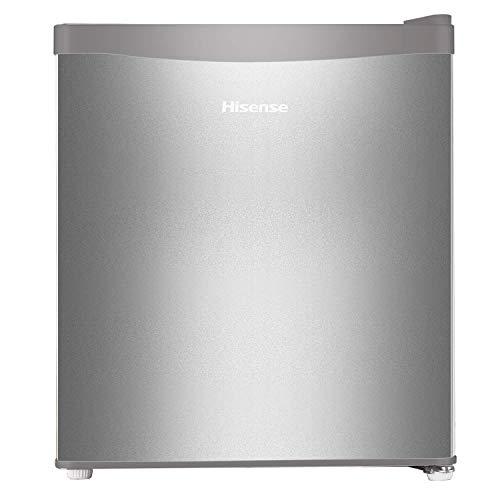 Hisense 44 L 1 Star Direct-Cool Single Door Mini Refrigerator (RR60D4ASB1, Silver)
