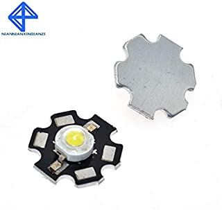 10 UNIDS Real Original Epistar Chip 3W LED Lámpara de diodos de bombilla 220lm-240lm Luz de bombillas LED blanca 20MM 700MA 3.2-3.4V