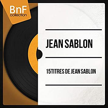 15 Titres de Jean sablon (Mono Version)
