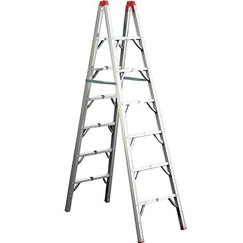 GP Logistics SLDD7 7' Compact Folding Ladder