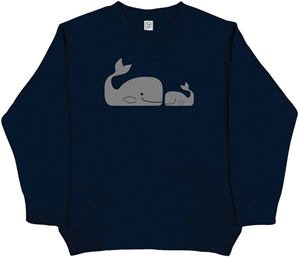Sunshine Mountain Tees Boys Whale Pair Sweatshirt